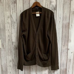 NWT Michael Kors oversized cardigan brown size L